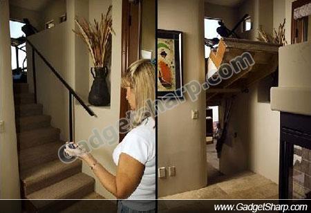 Creative Hidden Door