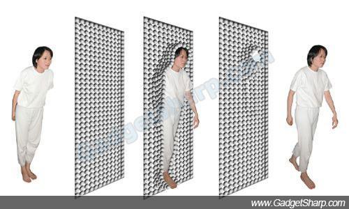 magnetic door