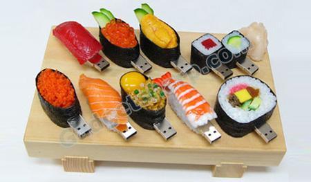 Sushi USB Flash Drives