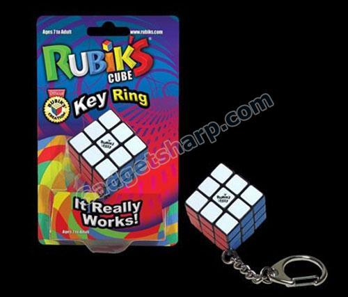 Rubik?s Cube Keychain