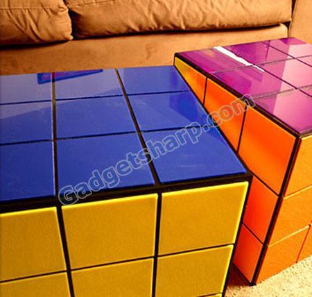 Rubik?s Cube Coffee Table