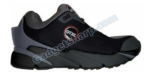 GPS-equipped Xplorer shoes