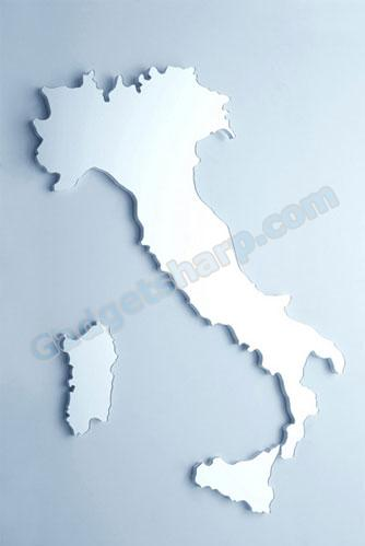 Italy Mirror (Boot shaped)