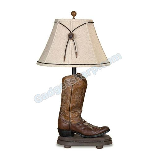 Cowboy Boot Table Lamp