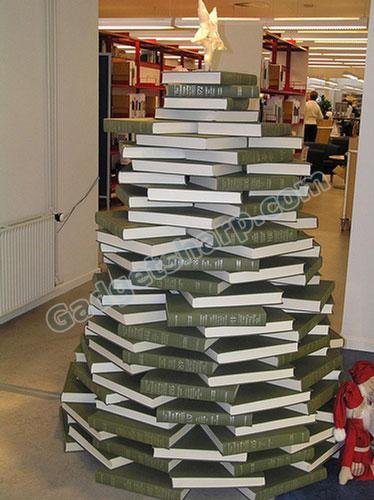 Library Christmas Tree