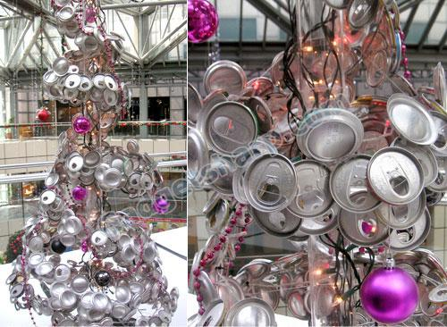 Aluminum can Tree