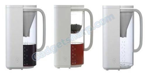 Coffee + Tea Maker: Choose your beverage!