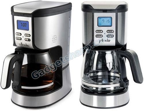 Interactive Speak n? Brew coffee maker