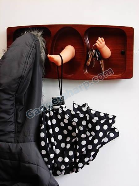 Baby limbs wall hook