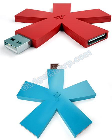 Asterisco Usb Hub