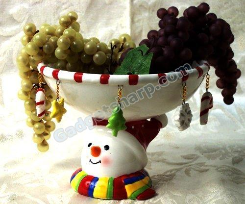 Snowball Candy/Fruit Dish