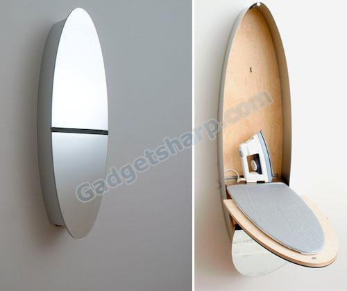 Mirror Iron Board Closet