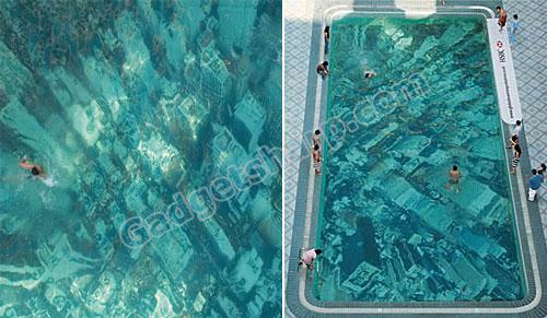 Global Warming Swimming Pool