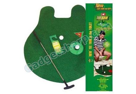 Tee Time Toilet Potty Puter