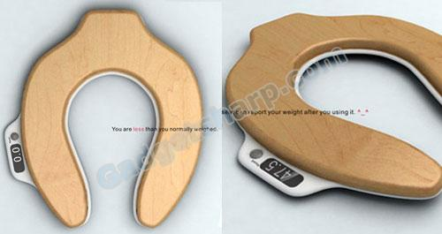 Toilet Seat Scale by Haikun Deng