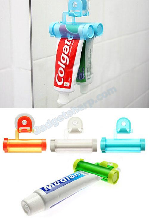 Wall-Mountable Toothpaste Squeezer