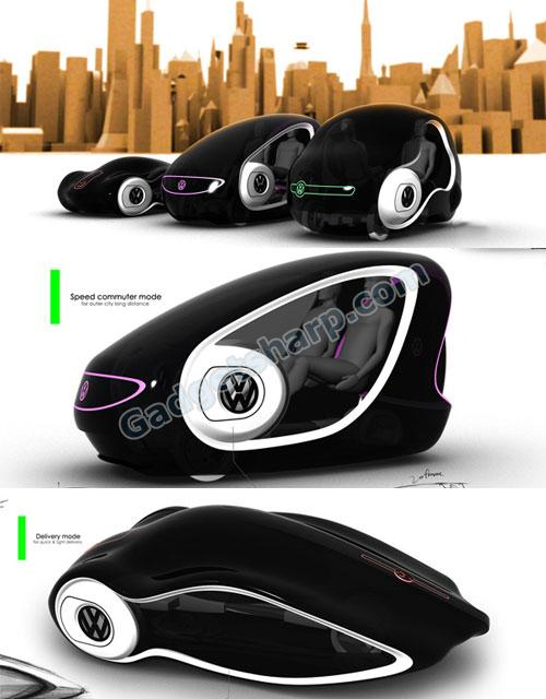 VW Breathe - Future Of Delivery, Both Human And Cargo