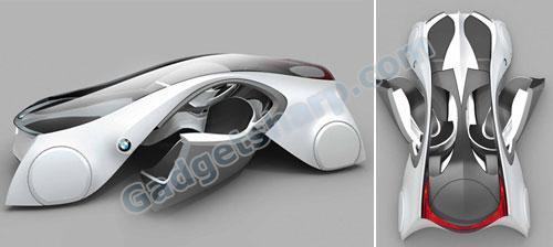BMW ZX-6 Futuristic Car Concept
