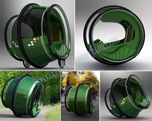 eRinGo - one wheel car?