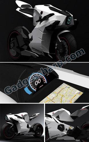 2015 Honda CB750 Motorcycle Concept