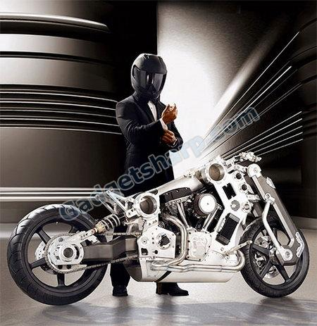 Titanium Fighter Motorcycle