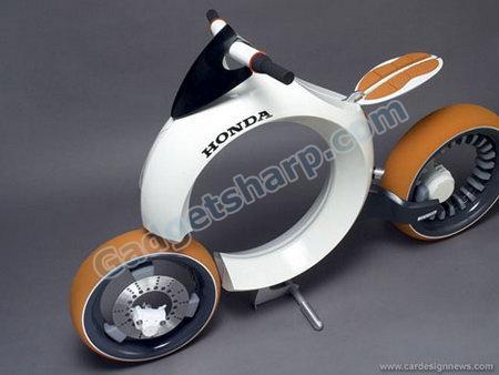 Honda Cub Motorcycle by Sam Jibert