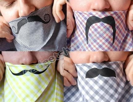 Mustache Handkerchief