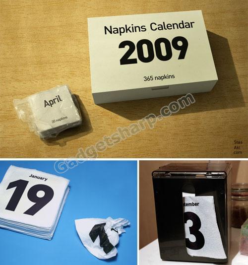 Napkins Calendar