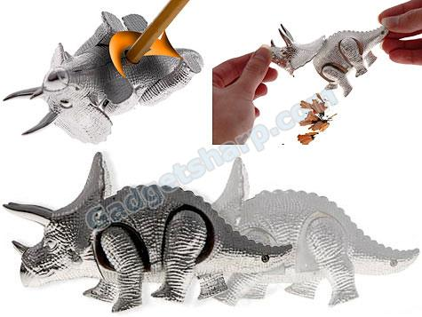 Wind-Up Triceratops Pencil Sharpener