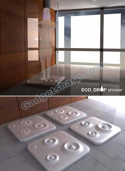 Eco-drop shower