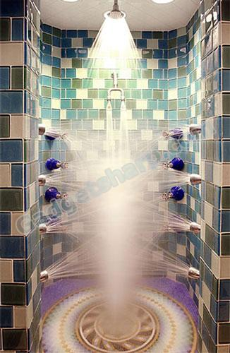 $100,000 Silver TAG shower