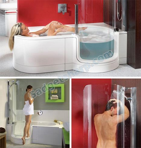 Artweger Twinline Tube Shower