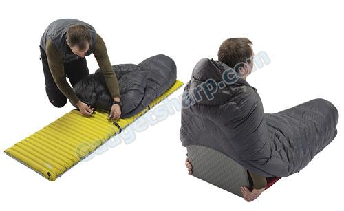 Ultralight, Zipperless Sleeping Bag
