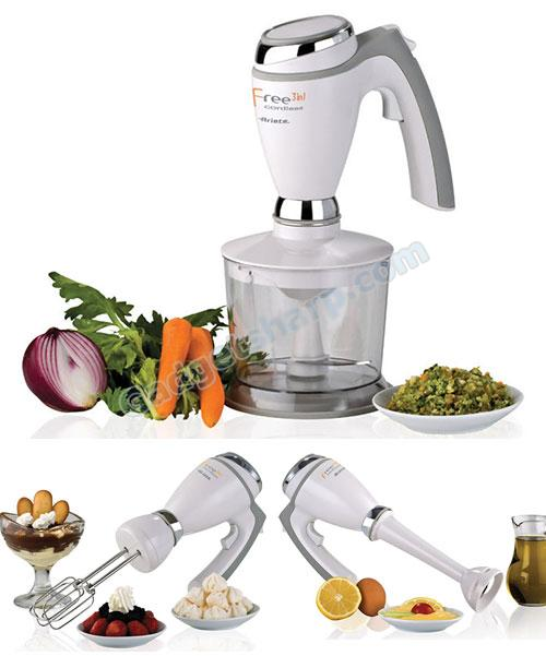 Ariete Freedom 3-in-1 cordless food processor