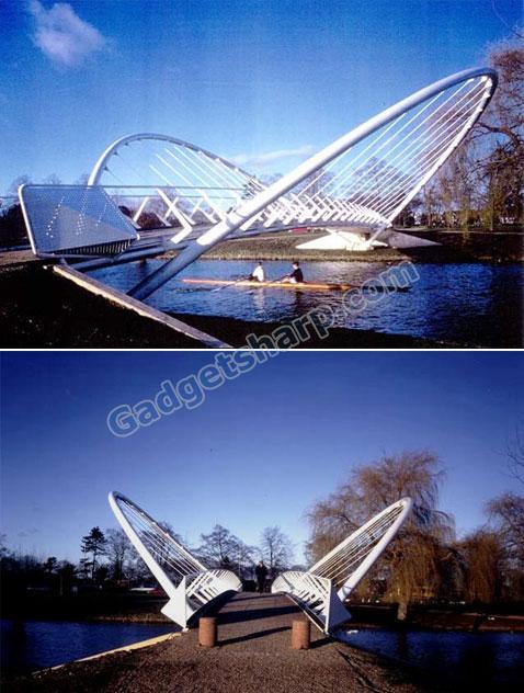 Butterfly Bridge, Bedford, UK