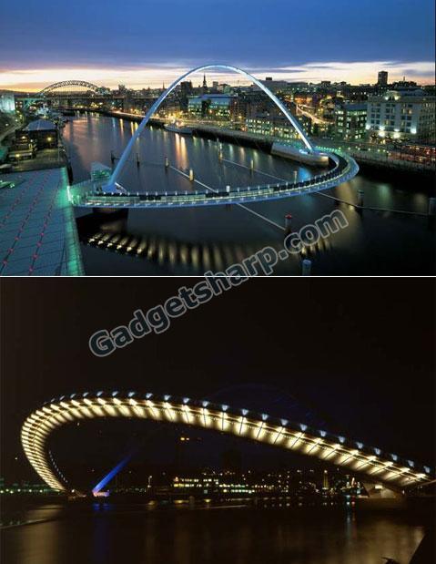 Gateshead Millennium Bridge, Gateshead, UK