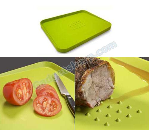 Cut & Carve Double Sided Cutting/Serving Board