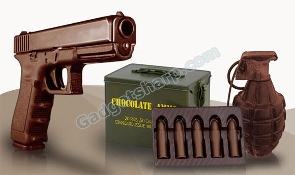 Chocolate Weapons - Chocolate Guns and Ammo