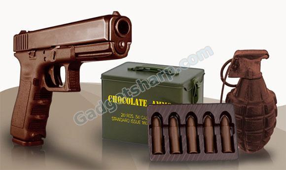 Chocolate Weapons - Chocolate Guns and Ammo