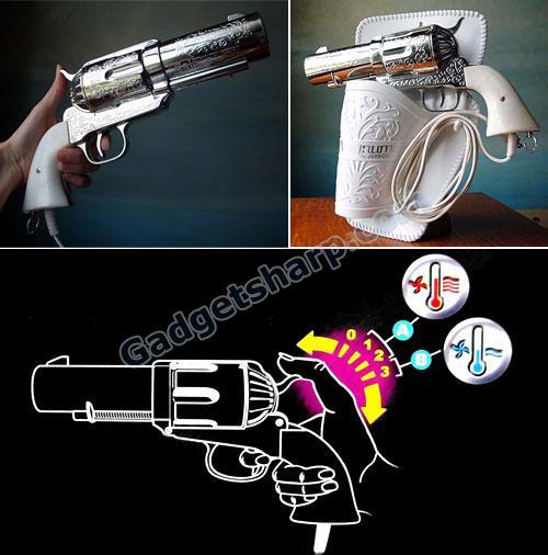Vintage Novelty Pistol Gun Hairdryer