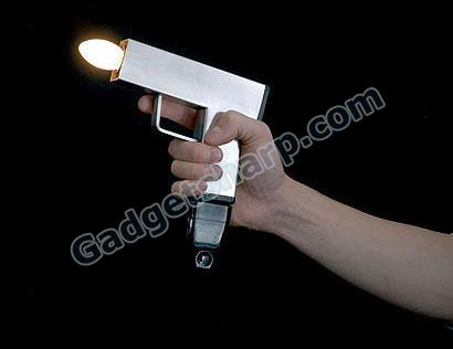 Gun shaped lighting