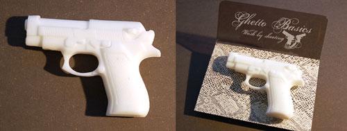 Wash by shooting - Gun Soap