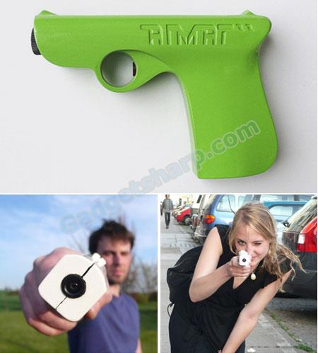 Gun Shaped Digital Camera