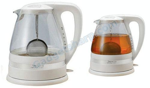 Electric Water Kettle and Tea Brewer