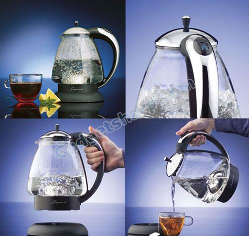 Capresso H2O Plus Glass Water Kettles