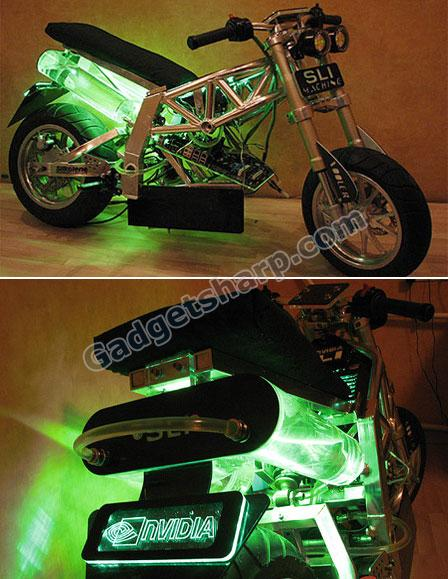 Motorcycle PC Case