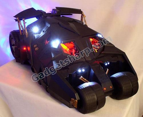 Batmobile PC case mod