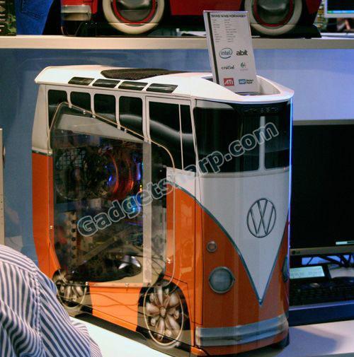 vw bus computer case
