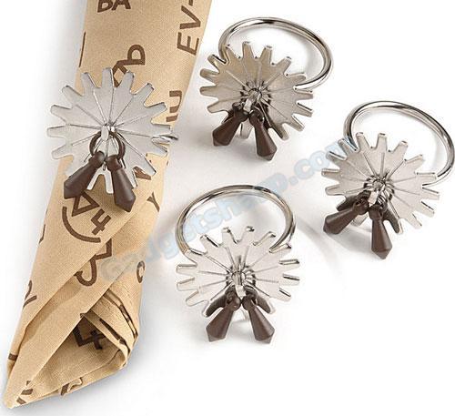 Montana Silversmiths spur napkin rings
