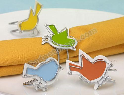 Chirp! Napkin Rings